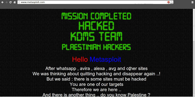 metasploit hacked by Plesting hacker