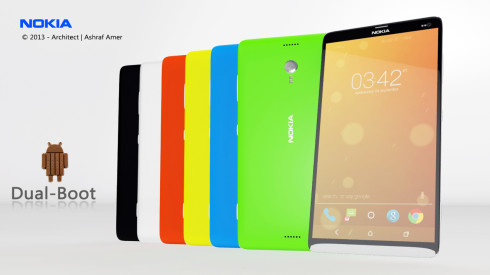 Nokia Dual Boot Android 4.4 +Windows 8.1 OS