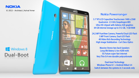 Nokia Dual Boot Smart Phone